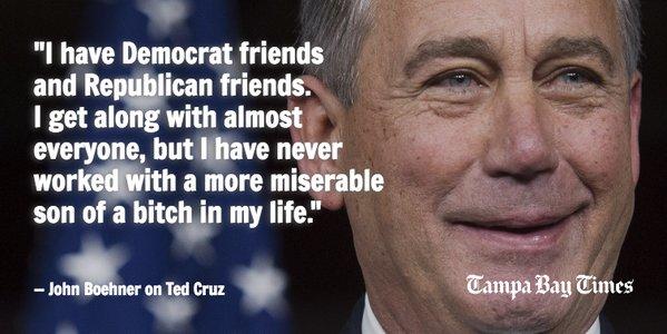 Boehner cruz